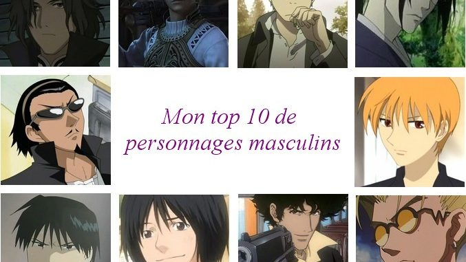 meilleurs perso anime