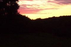 006-Jardin de mes parents, ciel rose