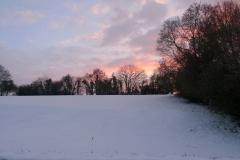 028-Vue depuis le jardin de mes parents, neige