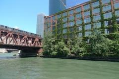 039-Train et rivière, Chicago