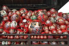 102-Daruma du temple Shôrinzan Darumaji à Takasaki