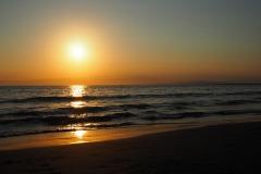Enoshima -Coucher de soleil
