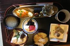 Arima Onsen - Déjeuner shôjin ryôri