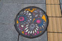 Matsumoto - Plaque d'égoût