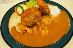 Matsumoto - Curry aux croquettes à la crème de crabe