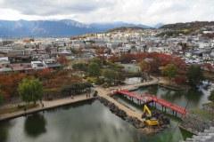 Matsumoto - Vue depuis le château