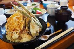 Sawara - Tempura pour le déjeuner