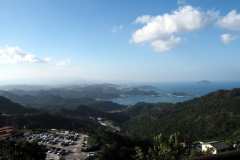 Jiufen - Vue sur la mer