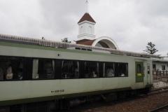 Gare de Nobeyama - Train de la ligne Koumi