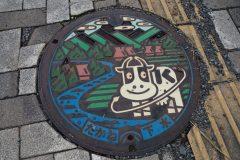 Kiyosato - Plaque d'égoût