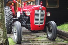 Moegi no mura - Vieux tracteur