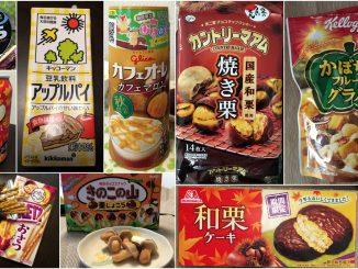 snacks japonais automne