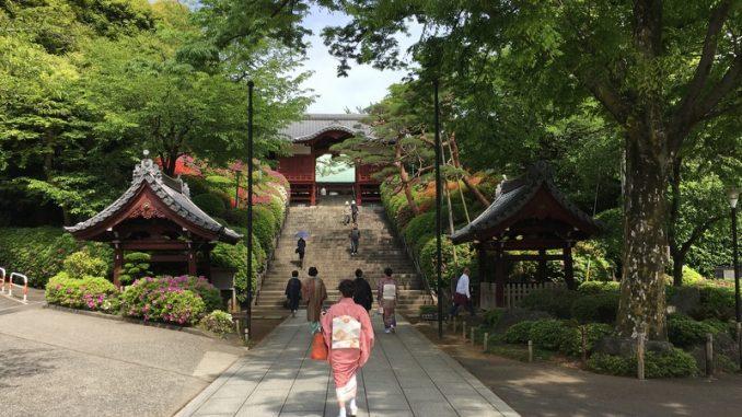 tokyo temple gokokuji