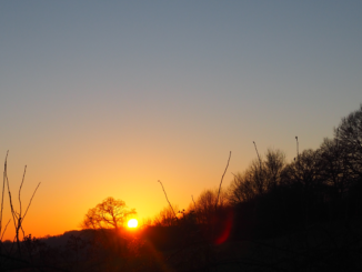coucher soleil normandie