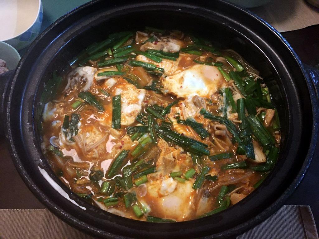 kimchi sundubu chige